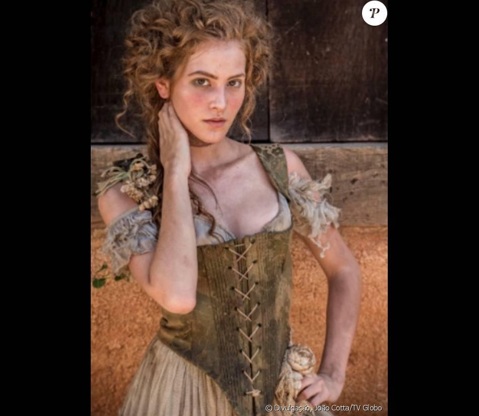 Hanna Romanazzi dá vida à prostituta Gironda na novela 'Liberdade, Liberdade' e não teme cenas de nudez na trama, que estreia em 11 de abril de 2016