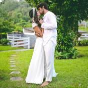 Veja fotos do casamento do ator Felipe Simas e Mariana Uhlmann, pais de Joaquim