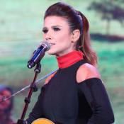Paula Fernandes para canção por violão desafinado e solta palavrão no 'Faustão'