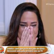 Silvia Abravanel abre mansão para Eliana e se emociona: 'Família é tudo na vida'