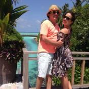 Renata Dominguez viaja em lua de mel após nove meses de casada