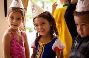 Maria Sophia, filha de Ronaldo e Bia Antony, completa 4 anos e ganha festinha