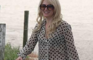 Antonia Fontenelle diz sobre sua boa forma aos 40 anos: 'Nunca engordo'