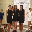 Marina Ruy Barbosa, Yanna Lavigne e Chandelly Braz usaram vestidos pretos no evento