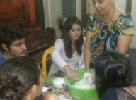 Bruna Marquezine coloca a mão na massa durante intervalo de 'Em Família'