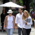 Diane Kruger e Joshua Jackson almoçaram no restaurante Via Sete, em Ipanema, na Zona Sul do Rio