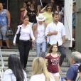 Diane Kruger e Joshua Jackson deixam o Pão de Açúcar, no Rio