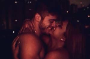 Preta Gil publica foto sensual com o namorado, Rodrigo Godoy: 'Amor prevaleça'