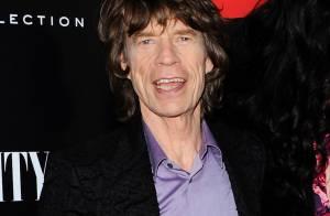 Mick Jagger está animado com a notícia de que será bisavô: 'Ficou contente'