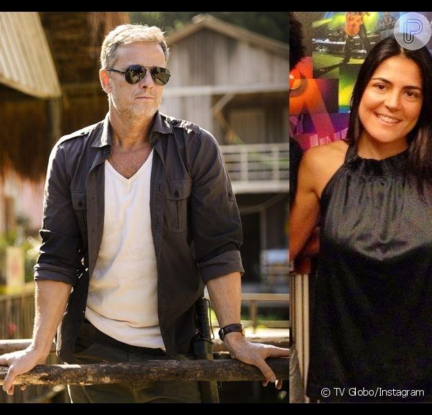 Marcello Novaes, que estava solteiro há sete anos, agora já tem um novo amor. O ator foi visto pela revista 'Quem' na companhia de sua nova namorada, a jornalista Samyra Ponce, no jogo da Copa do Brasil na noite de quarta-feira, 27 de novembro de 2013