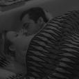 Matheus e Cacau fizeram sexo embaixo do edredom no reality show