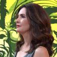 Fátima Bernardes quase não foi focalizada durante o musical de Gusttavo Lima no 'Encontro'