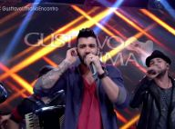 Gusttavo Lima canta 'Que Pena Que Acabou' na TV e web brinca:'Dedicada a Fátima'