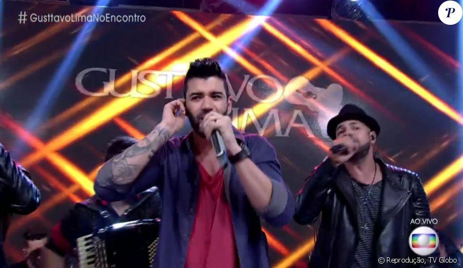 Gusttavo Lima cantou sua nova música de trabalho, 'Que Pena Que Acabou' no 'Encontro com Fátima Bernardes' desta quarta-feira, 31 de agosto de 2016 e movimentou a web: 'Vai fazer a Fátima chorar'