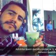 Ex-BBB Matheus e Maria Cláudia tem sido alvo de haters: 'Nem leio'