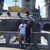 Marcos Mion e a mulher, recuperada de câncer, visitam Lourdes: 'Missa na gruta'