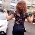 No vídeo feito por Fernanda Souza, Cláudia exibe o look de sua nova personagem, Salete, em 'A Lei do Amor', próxima novela das nove, com estreia prevista para outubro de 2016