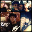 Montagem que Neymar fez para Bruna Marquezine: 'É o que eu quero pra nós! E que nada nesse mundo cale a nossa voz! Céu e mar e alguém para amar! E o arrepio toda vez que a gente se encontrar!'