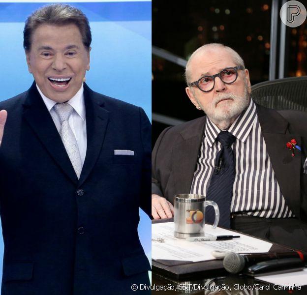 Silvio Santos deixou de dar entrevista a Jô Soares por medo da morte, afirma colunista nesta sexta-feira, dia 02 de setembro de 2016