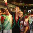 Ivete Sangalo, que será tema do desfile de 2017 da Grande Rio, esteve na quadra da escola em Duque de Caxias, na Baixada Fluminense