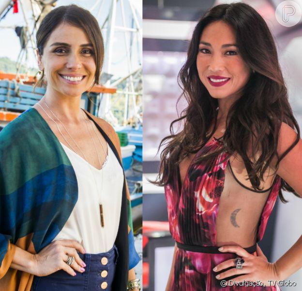 Giovanna Antonelli estaria envolvida na saída de Daniele Suzuki da novela 'Sol Nascente'