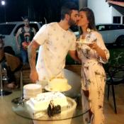 Gusttavo Lima comemora aniversário de 27 anos com mulher, Andressa Suita. Vídeo!