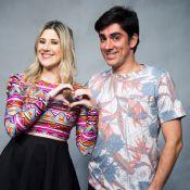 Marcelo Adnet é elogiado por mulher, Dani Calabresa, em aniversário: 'Sensível'