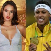 Bruna Marquezine desconversa sobre reaproximação com Neymar: 'Ai, meu Deus'