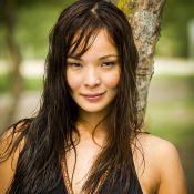 Carol Nakamura grava novela 'Sol Nascente' sem maquiagem: 'Como sou, de fato'