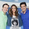 """Chris Flores nega a possibilidade de ir para o """"Melhor Pra Você"""" apresentar o programa com Celso Zucatellii e Edu Guedes"""