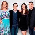 Na Record, Chris Flores trabalhou ao lado de Giane Albertoni, Celso Zucatelli e Edu Guedes