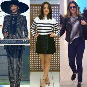 Looks listrados estão em alta. Veja as famosas que aderiram à moda e inspire-se!