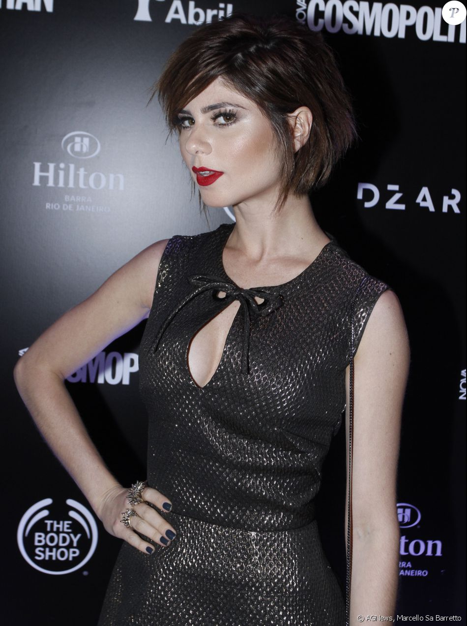 Nos acessórios, Julianne Trevisol usou joias da marca H. Stern