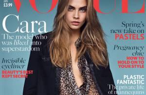 Cara Delevingne posa para 'Vogue' com look de R$ 22 mil da grife Saint Laurent