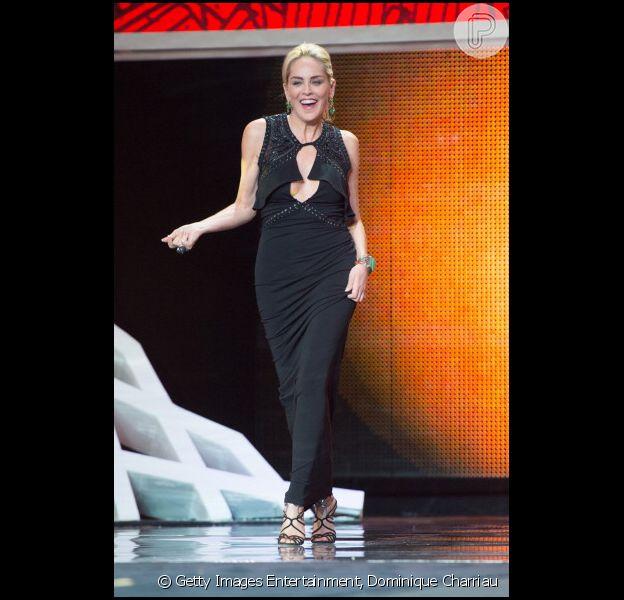 Sharon Stone rouba cena no Festival de Filme em Marrakech; belíssima aos 55 anos, loira recebeu homenagem no evento
