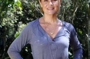 Adriana Esteves comemora 44 anos cotada para interpretar Hebe Camargo no cinema