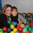 Ticiane Pinheiro é mãe de Rafaella Justus, de 4 anos de idade