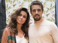 Novela 'Sol Nascente': Alice termina o namoro com Cesar e ele briga com Mario