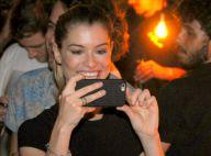 Alinne Moraes recebe Mariana Ximenes e mais famosos em aniversário do marido