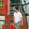 Matthew McConaughey e a filha Vida, de 3 anos