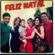 Zezé di Camargo e Zilu passaram o Natal juntos com a família. Muitos acreditam numa reconciliação do casal  que anuncioiu a separação em 2012