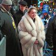 Miley Cyrus foi uma das convidadas para se apresentar no réveillon de Nova York na noite desta terça-feira, dia 31 de dezembro de 2013