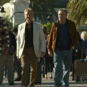 Michael Douglas comemora filme com astros após câncer: 'Apreciando o tempo'