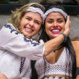 Ana Paula Renault e Munik ficaram amigas durante o 'Big Brother Brasil 16'