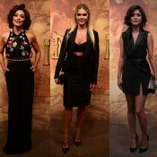 Veja looks de Juliana Paes, Bárbara Evans e mais famosas em lançamento de série!