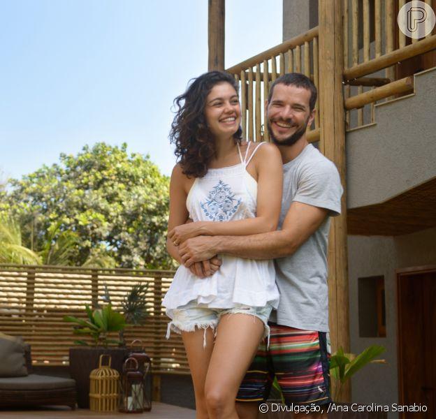 Sophie Charlotte e Daniel de Oliveira festejam 1 ano de casamento nesta quarta-feira, dia 07 de dezembro de 2016