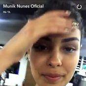 Ex-BBB Munik retoma treinos após viagem à Colômbia: 'Tá doendo'. Vídeo!
