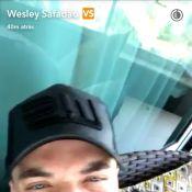 Wesley Safadão se desculpa por não ter feito foto com fã: 'Me senti muito mal'