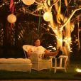Netinho fez uma grande festa de Réveillon em sua casa na Paraia de Guarajuba, na Bahia