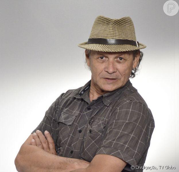 Francisco Carvalho está desempregado desde o fim da novela 'Salve Jorge' (17 de janeiro de 2014)